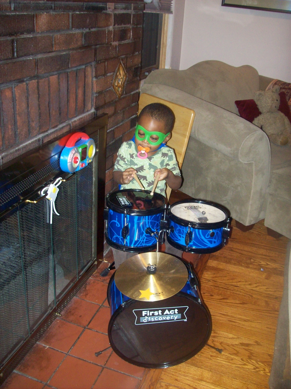1st Drum Set Ever